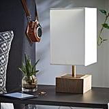 MoDRN Scandinavian Natural Wood Accent Lamp