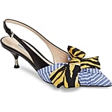 Prada Bow Pointy Toe Pump