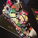 The legendary costume designer Patricia Field designed a pair of (punk-inspired) sneakers. You like?