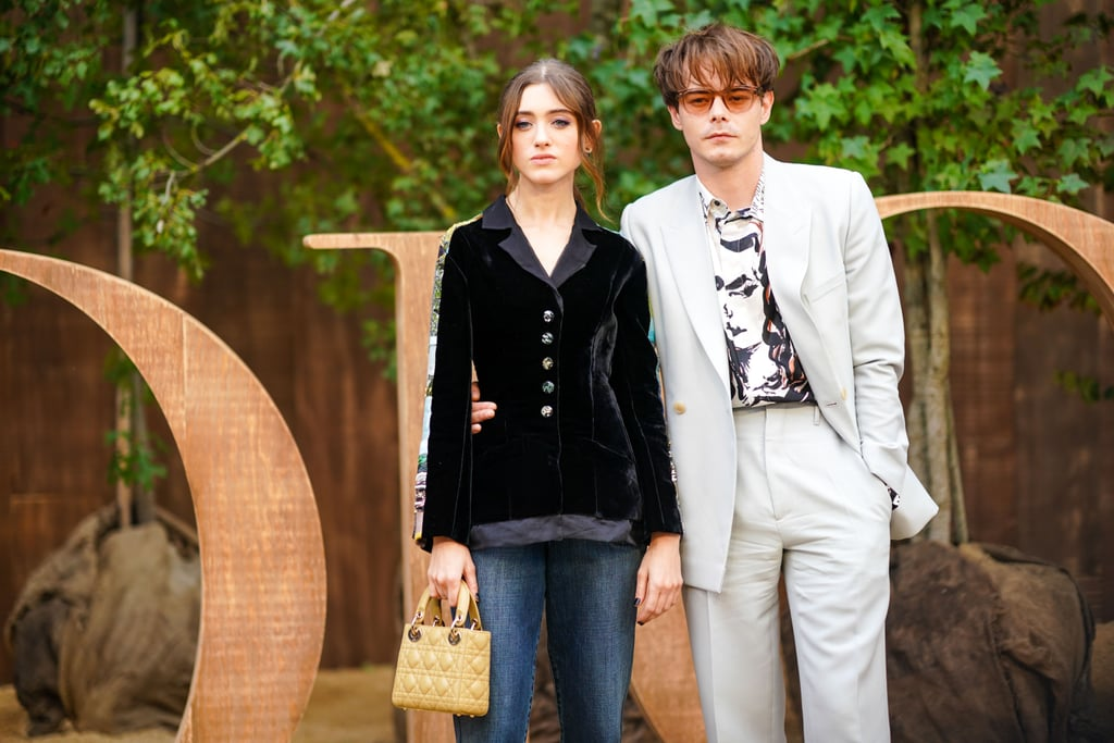 Natalia Dyer and Charlie Heaton Look Like the Ultimate Power Couple at Paris Fashion Week