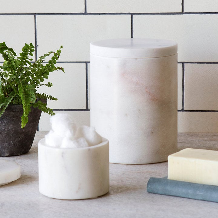 Marble Storage Canister ($34)   Marble Kitchen Accessories ...