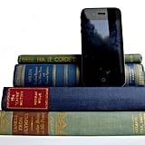 Quad Book iPhone Dock ($57)