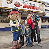 Melissa Joan Hart and her family spent a March 2013 day at the LA amusement park.