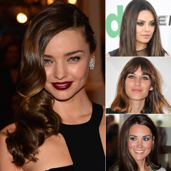 Iconic Celebrity Brunette Hair Inspiration: Miranda Kerr