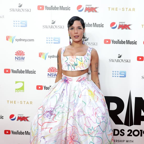 Halsey's Rainbow Dress at the 2019 ARIA Awards