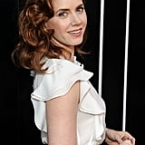 Amy Adams's warm red colour has added dimension with the help of highlights and lowlights.