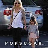 Sarah Michelle Gellar took her daughter, Charlotte, to her ballet class in LA on Saturday.