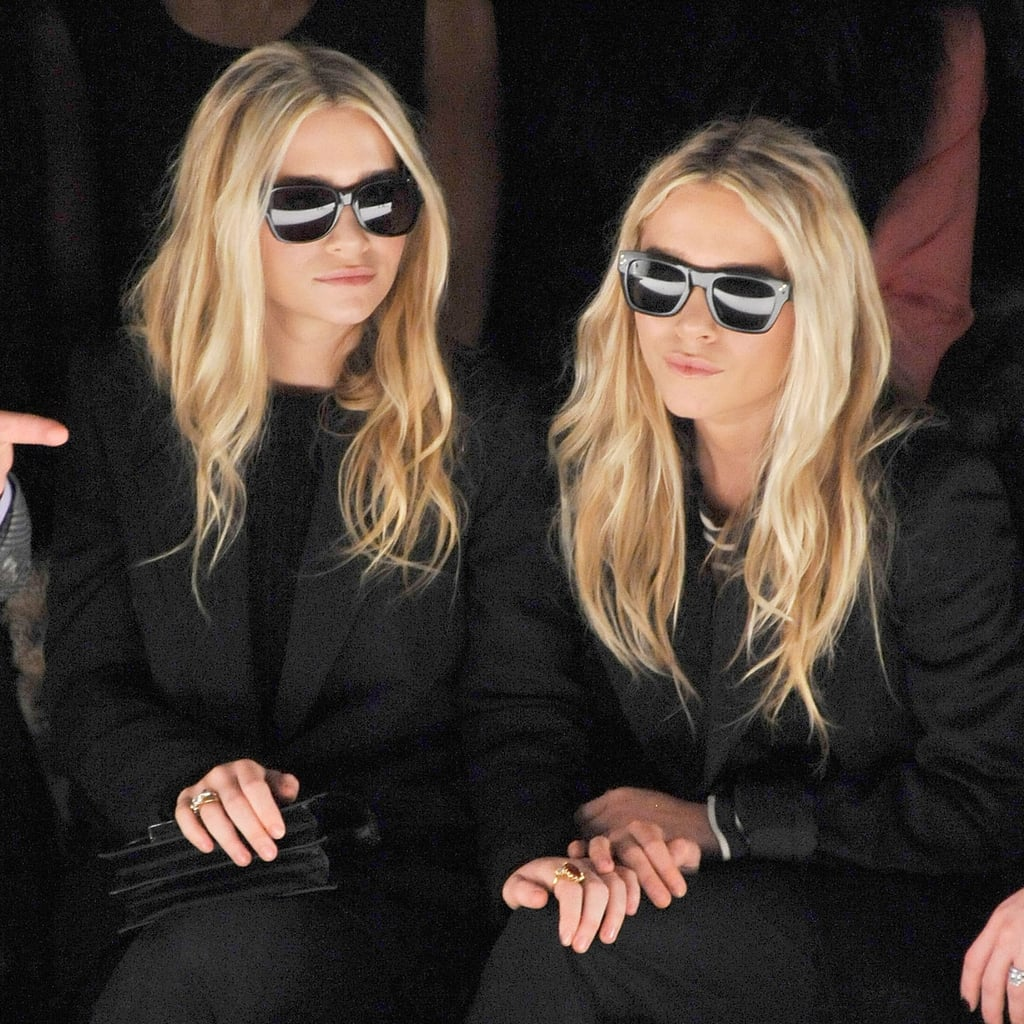 Mary-Kate and Ashley Olsen at Fashion Week Pictures