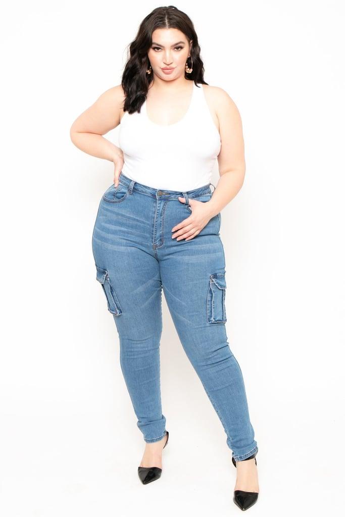 Boohoo Cargo Jeans