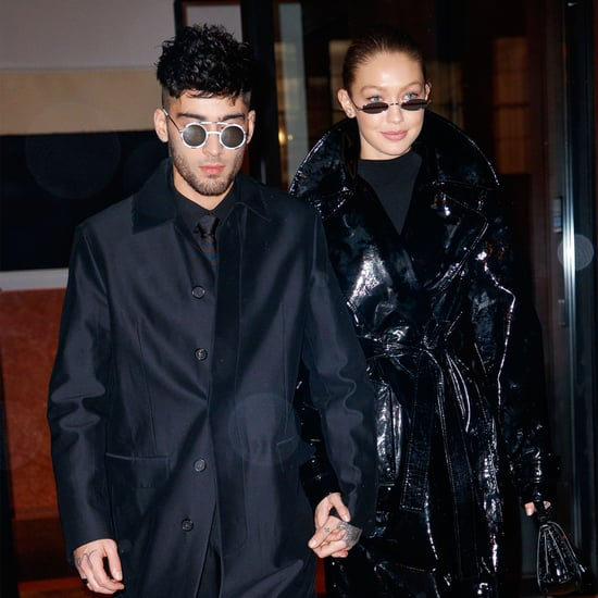 Gigi Hadid's Louis Vuitton Galaxy Pants For Zayn's Birthday