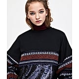 Zara Sequined Sweatshirt