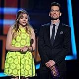 Chloë Moretz and Matt Bomer