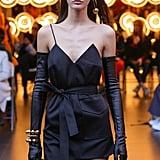 Kourtney Kardashian Black Dress by George Keburia