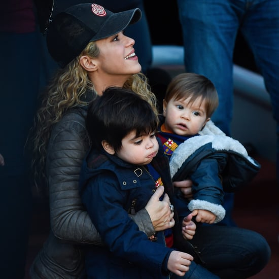 Shakira's Sons Instagram Photo November 2016
