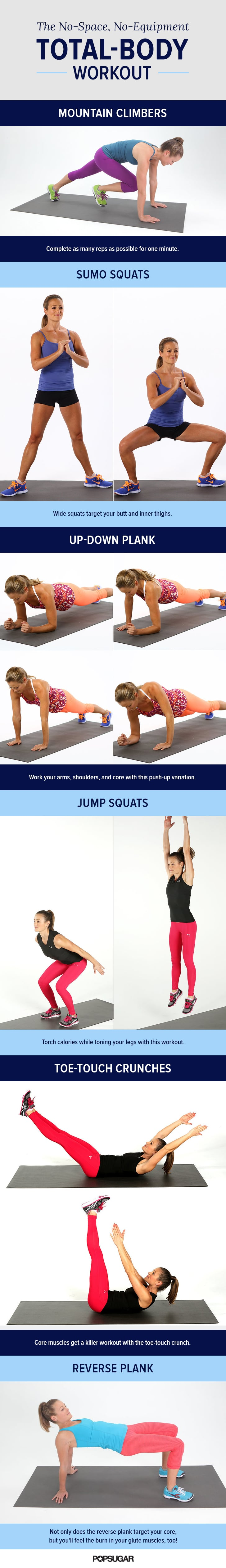 Total-Body, No-Equipment Workout