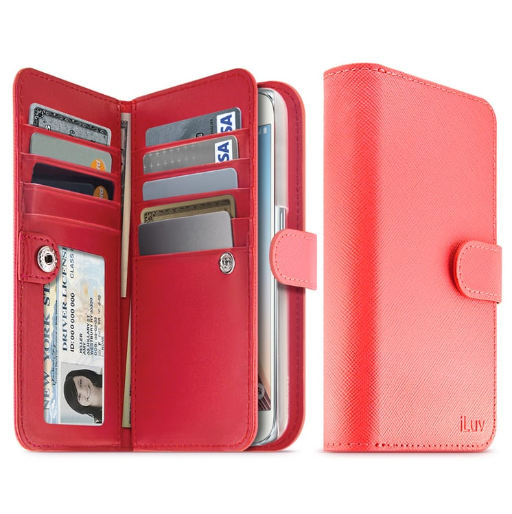 iLuv Leather Wallet Case ($60)