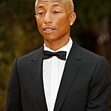 Pictured: Pharrell Williams at The Lion King premiere in London.