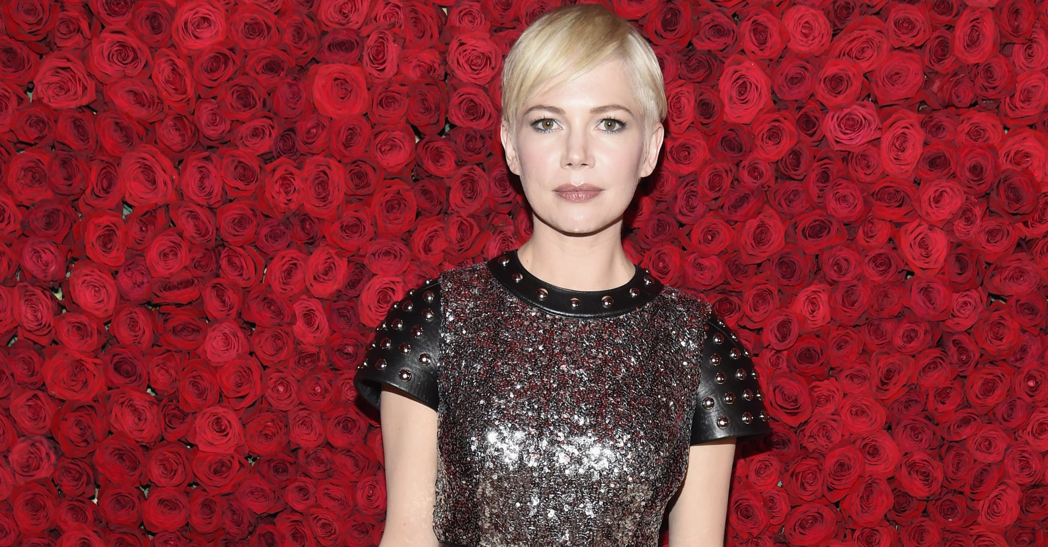 NEW YORK, NY - MAY 07: Michelle Williams attends the Heavenly Bodies: Fashion & The Catholic Imagination Costume Institute Gala at The Metropolitan Museum of Art on May 7, 2018 in New York City.  (Photo by Kevin Mazur/MG18/Getty Images for The Met Museum/Vogue)