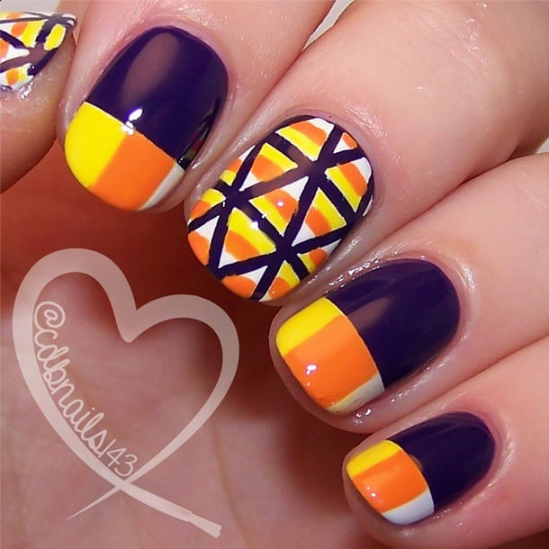 Candy Crush 101 Halloween Nail Art Designs That Are A Major Treat