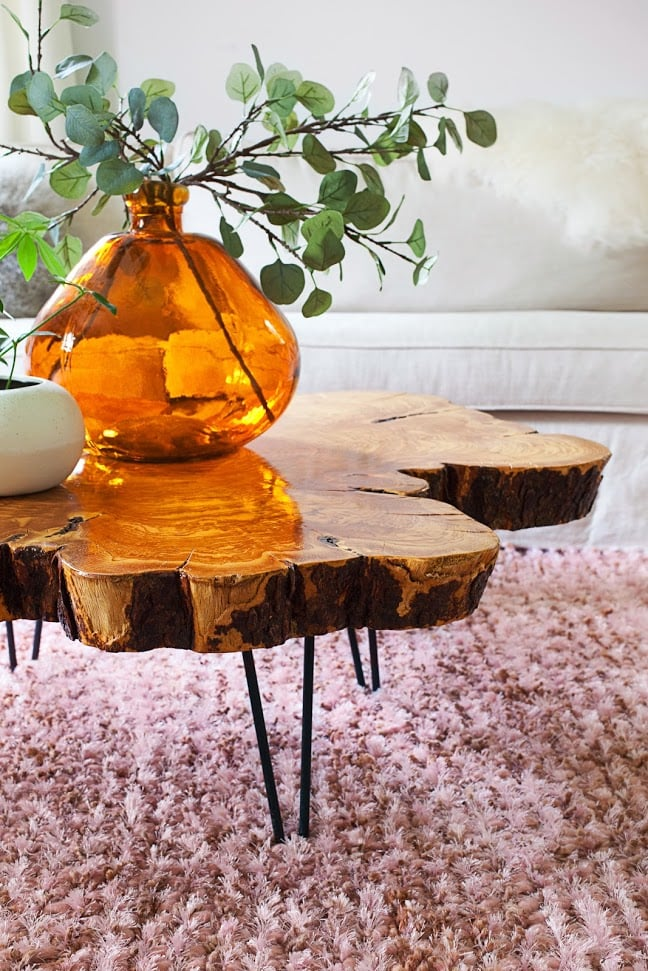 Live-Edge Coffee Table