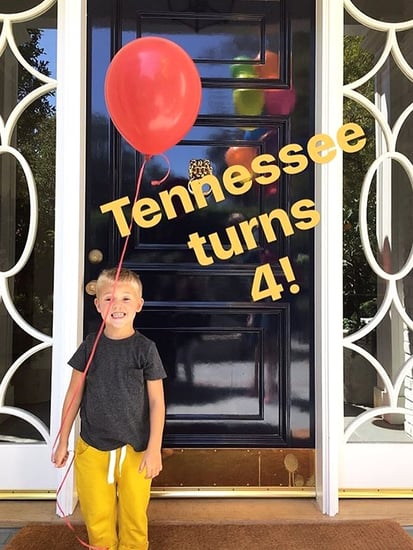 Tennessee the Turtle! Reese Witherspoon Celebrates Her Son's 4th Birthday
