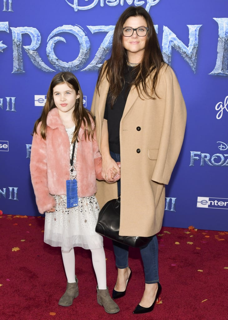 Harper Renn Smith and Tiffani Thiessen at the Frozen 2 Premiere in Los Angeles
