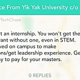 Try doing at least one internship.