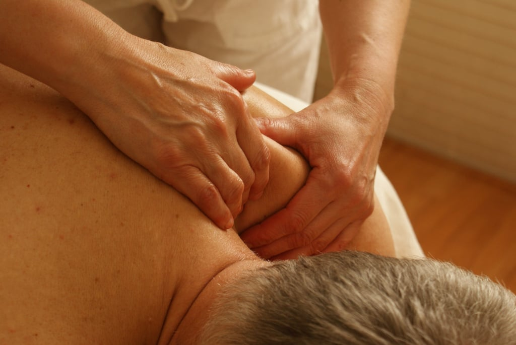 Give your partner a massage.