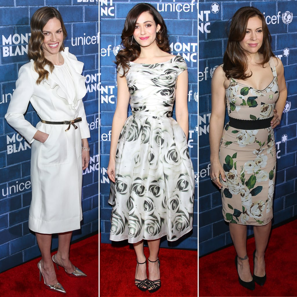 Celebrities at Montblanc and UNICEF Pre-Oscars Party