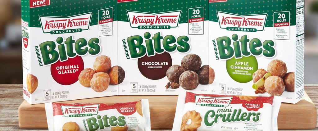 Krispy Kreme Doughnut Bites and Mini Crullers at Walmart