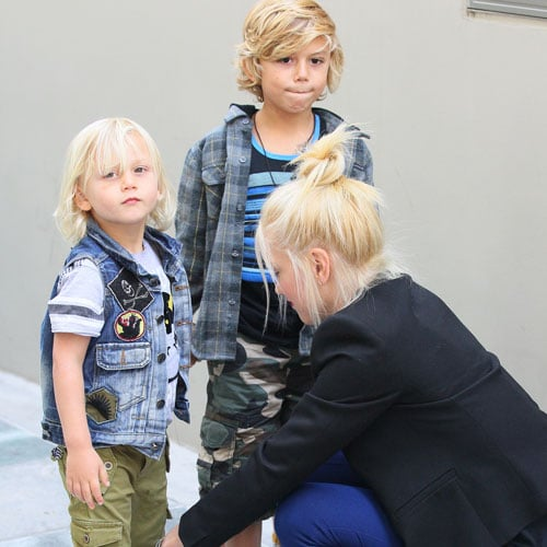 Kingston and Zuma Rossdale Photos