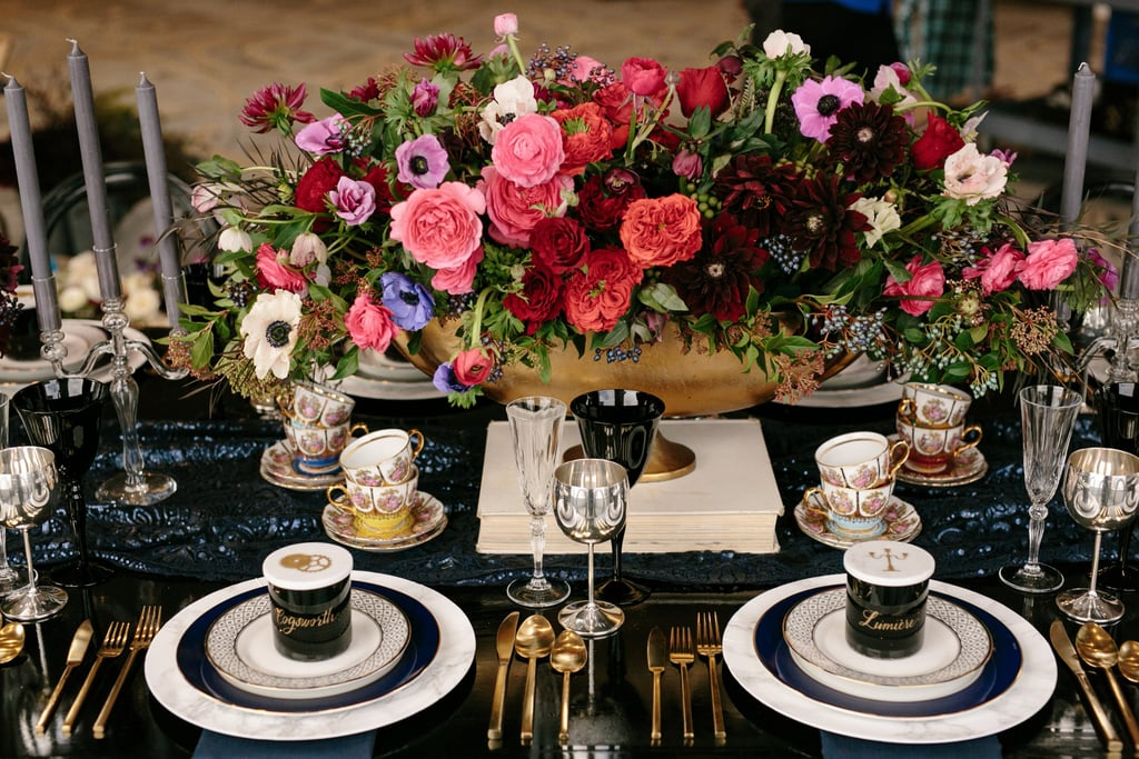 Beauty and the Beast-Inspired Tablescape