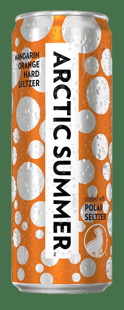 Arctic Summer Mandarin Orange Hard Seltzer