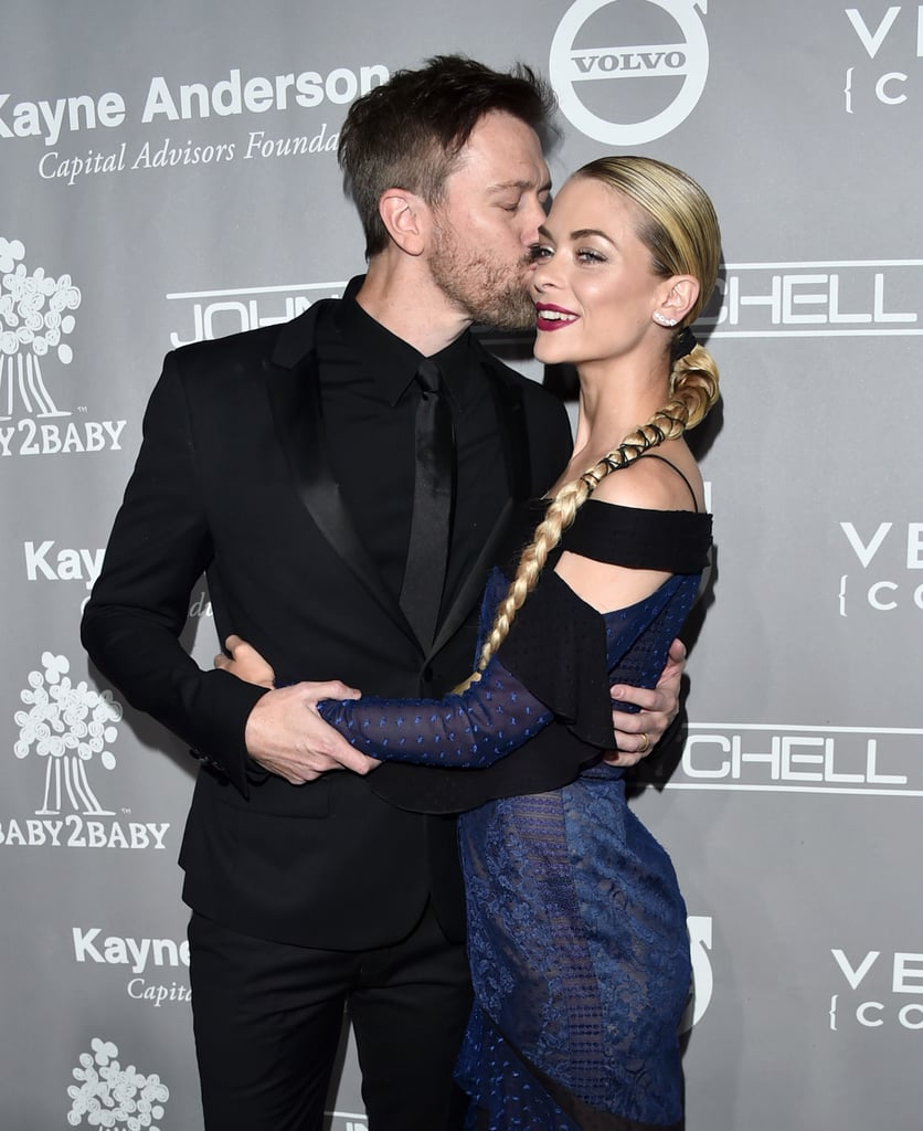 Pictured: Jaime King and Kyle Newman