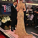The back of Taylor Swift's Zuhair Murad gown was intricate.