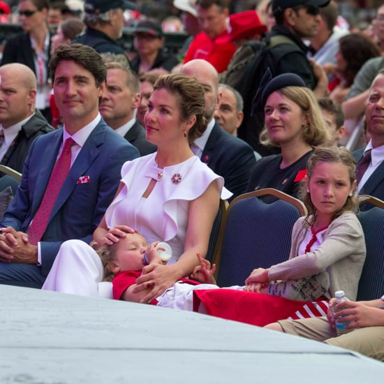 Justin Trudeau and Family at Canada Day 2017