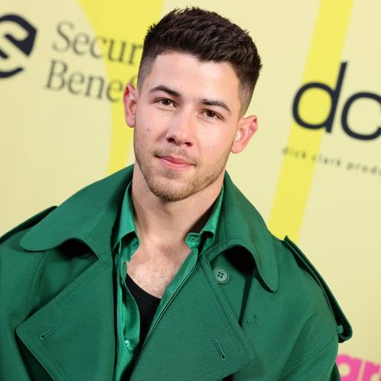 Nick Jonas Shaves His Facial Hair on Instagram
