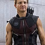 Jeremy Renner as Hawkeye in The Avengers.  Photo courtesy of Disney