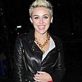 Miley Cyrus Celebrates Her Cosmo Cover in NYC