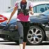 Photos of Charlize Theron Leaving the Gym