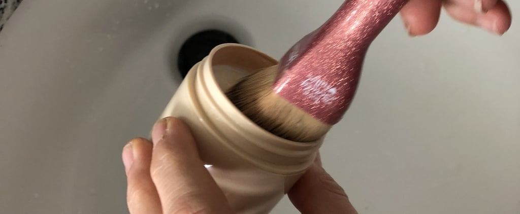 Makeup Brush Cleaning Hack