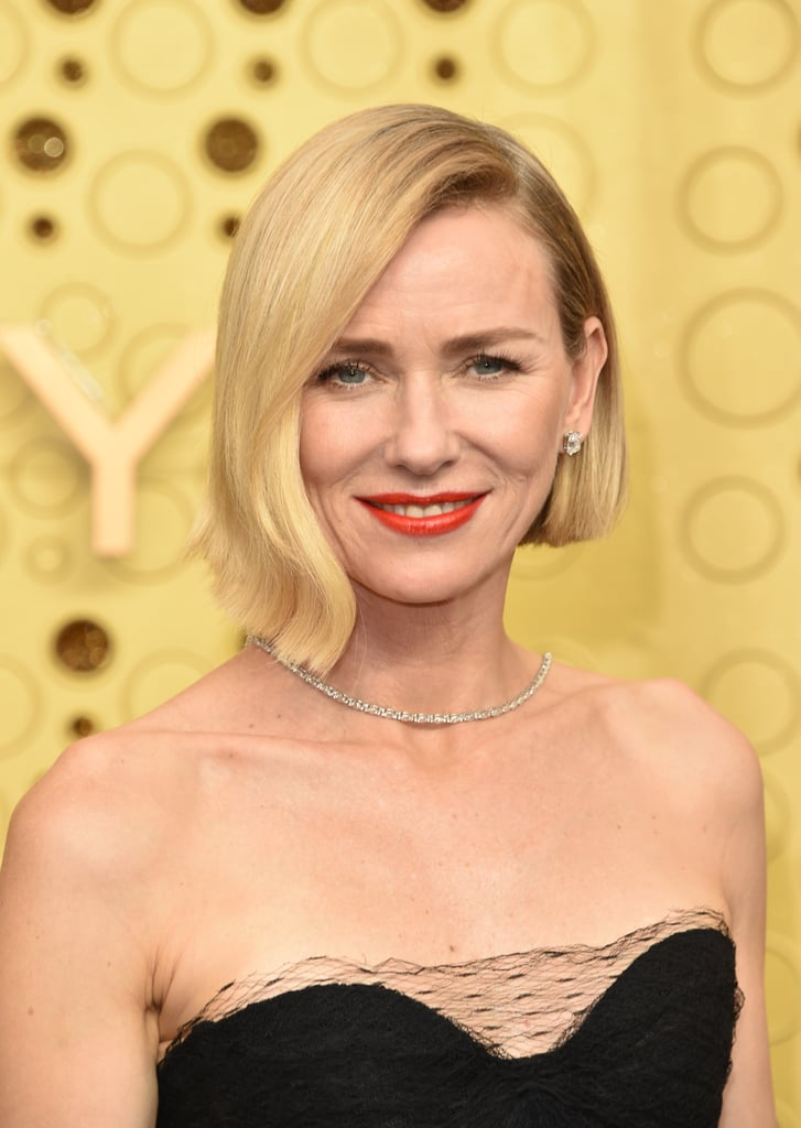 Naomi Watts's Asymmetrical Bob at the Emmys 2019 | All the ...