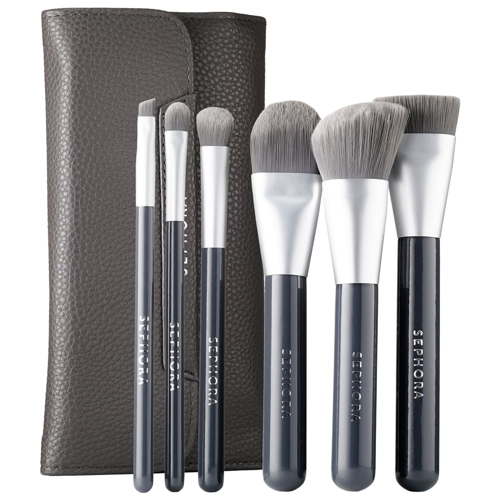 Sephora Collection Charcoal Antibacterial Brush Set