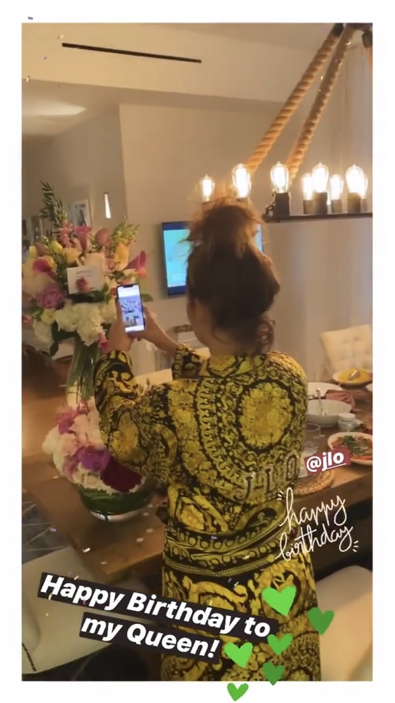 Alex Rodriguez's 51st Birthday Message For Jennifer Lopez
