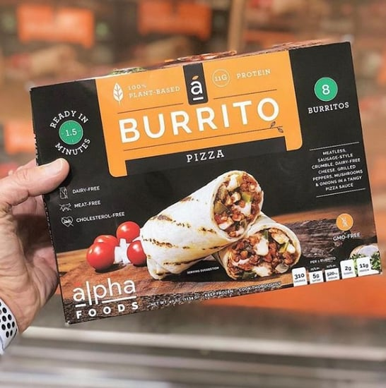 Costco Vegan Pizza Burrito