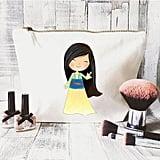 JustBeBohoCollective Disney Quote Makeup Bag — Mulan