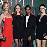 Amber Valletta, Stella McCartney, Letitia Wright and Shailene Woodley at The Green Carpet Fashion Awards 2019