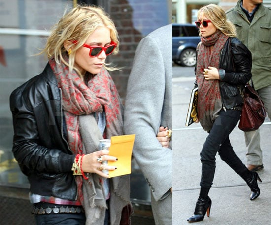Mary-Kate Gets Back to Her Busy NYC Olsen Twin Life
