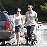 Robert Pattinson and Kristen Stewart went to lunch at En Sushi.