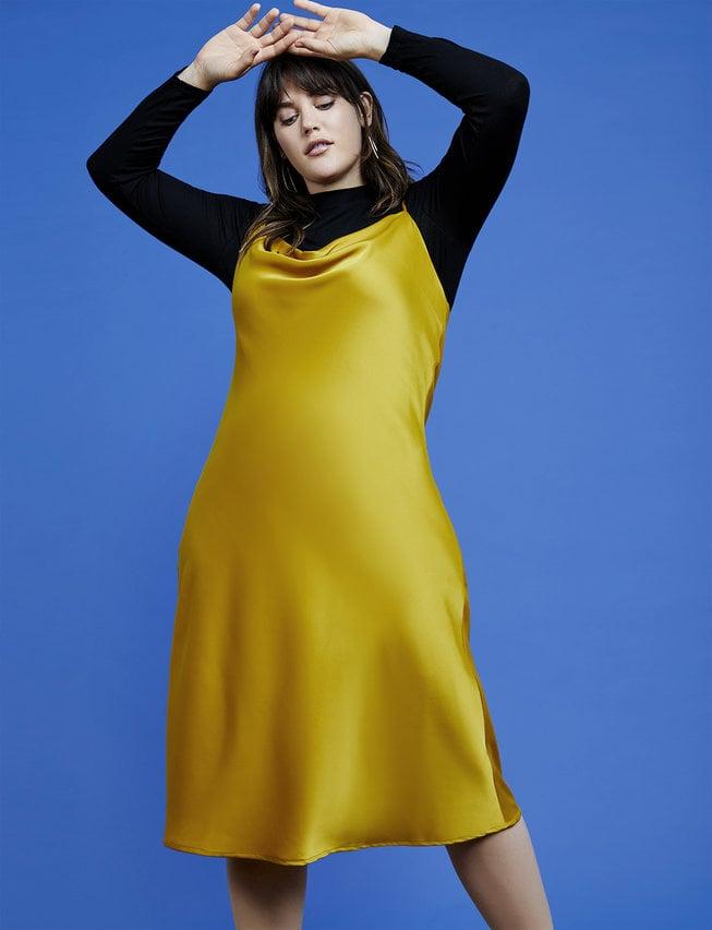 R29 x Eloquii Cowl Neck Slip Dress